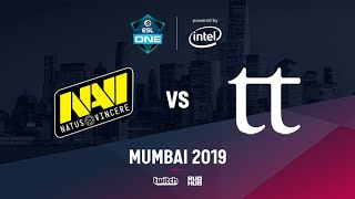 Na`Vi vs Team Team, ESL One Mumbai 2019, bo3, game 2 [Mortalles & Lost]