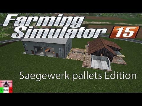 Saegewerk pallets Edition v2