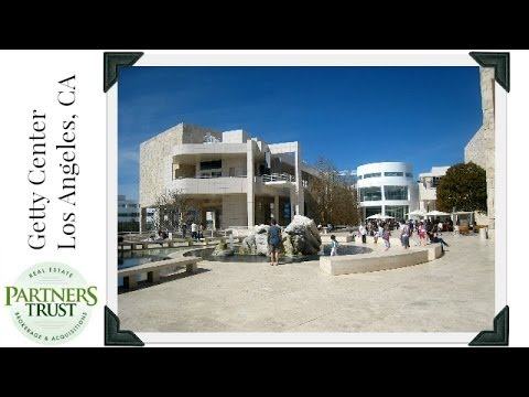 getty center exhibitions - http://www.ThePartnersTrust.com ~ Partners Trust's Dane Findley talks about the Getty Center, one of the most beautiful art exhibitions in Southern Californi...