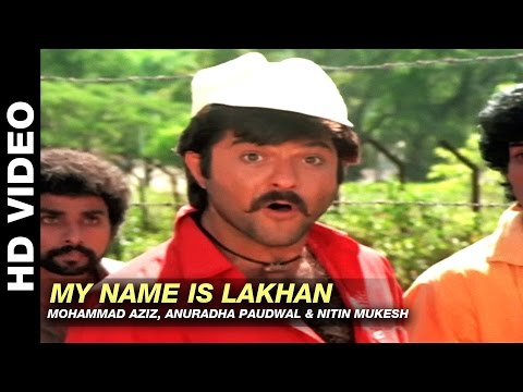 Video My Name Is Lakhan - Ram Lakhan | Mohammad Aziz, Anuradha Paudwal & Nitin Mukesh | Anil Kapoor download in MP3, 3GP, MP4, WEBM, AVI, FLV January 2017