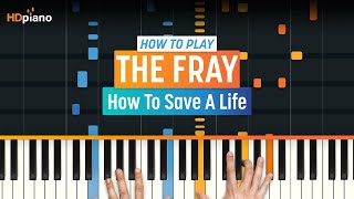 "Video How To Play ""How To Save A Life"" by The Fray 