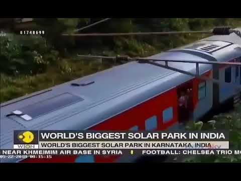 Indian Railways harnessing Solar Power