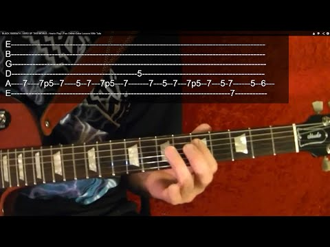 LYNYRD SKYNYRD – FREEBIRD ( Intro ) – How to Play – Free Online Guitar Lessons With Tabs