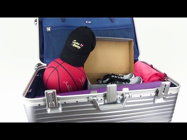 最能裝的行李箱 時尚胖胖箱 奧莉薇閣Allez Voyager Sport運動版鋁框箱