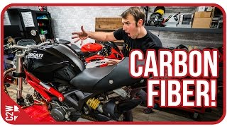 10. Once you go black...[Wrecked Bike Rebuild - Ep. 07 - Ducati Monster 1100]