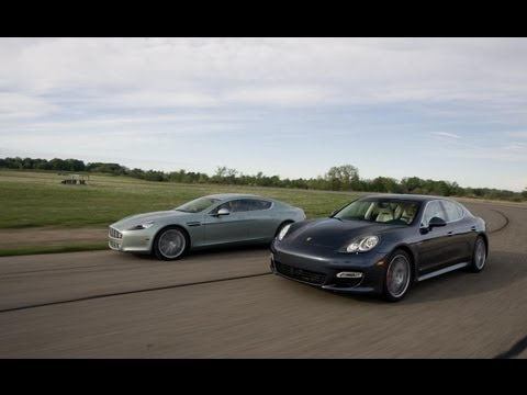 2010 Aston Martin Rapide vs. 2010 Porsche Panamera Turbo – Comparison Tests – CAR and DRIVER