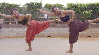 Video MUKTI & SHAKTI MOHAN FUSION DANCE ON SHAPE OF YOU CARNATIC MIX BY INDIAN RAGA FEAT ADITYA RAO MP3, 3GP, MP4, WEBM, AVI, FLV September 2018