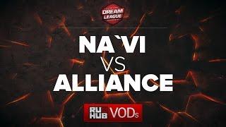 NaVi vs Alliance, DreamLeague Season 6, game 1