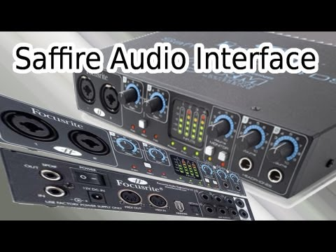 FIREWIRE AUDIO INTERFACE - Focusrite Saffire Pro 24 DSP Externe Soundkarte (TEST, REVIEW & TUTORIAL)