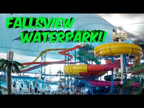Download Fallsview Indoor Waterpark Niagara Falls Walkthrough HD Mp4 3GP Video and MP3