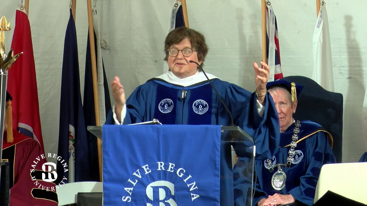 Sister Helen Prejean Salve Regina Convocation Address 2018