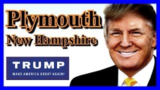 Plymouth (NH) United States  city photo : LIVE Donald Trump Plymouth New Hampshire FULL SPEECH HD Stream State University February 7 2016 ✔