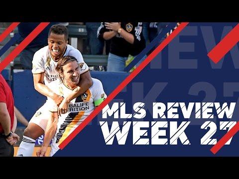 MLS Review:  Week 27