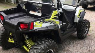 8. 2014 Polaris 800s LE white lightning