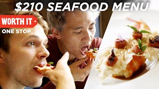 Video $210 7-Course Seafood Dinner MP3, 3GP, MP4, WEBM, AVI, FLV Agustus 2019