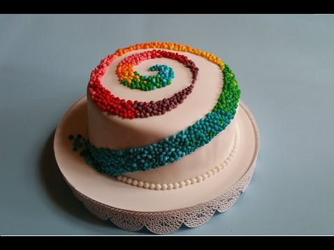 torta arcobaleno, rainbow cake - dolce di carnevale