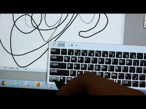 Fujitsu Stylistic Q550 觸控筆感壓測試