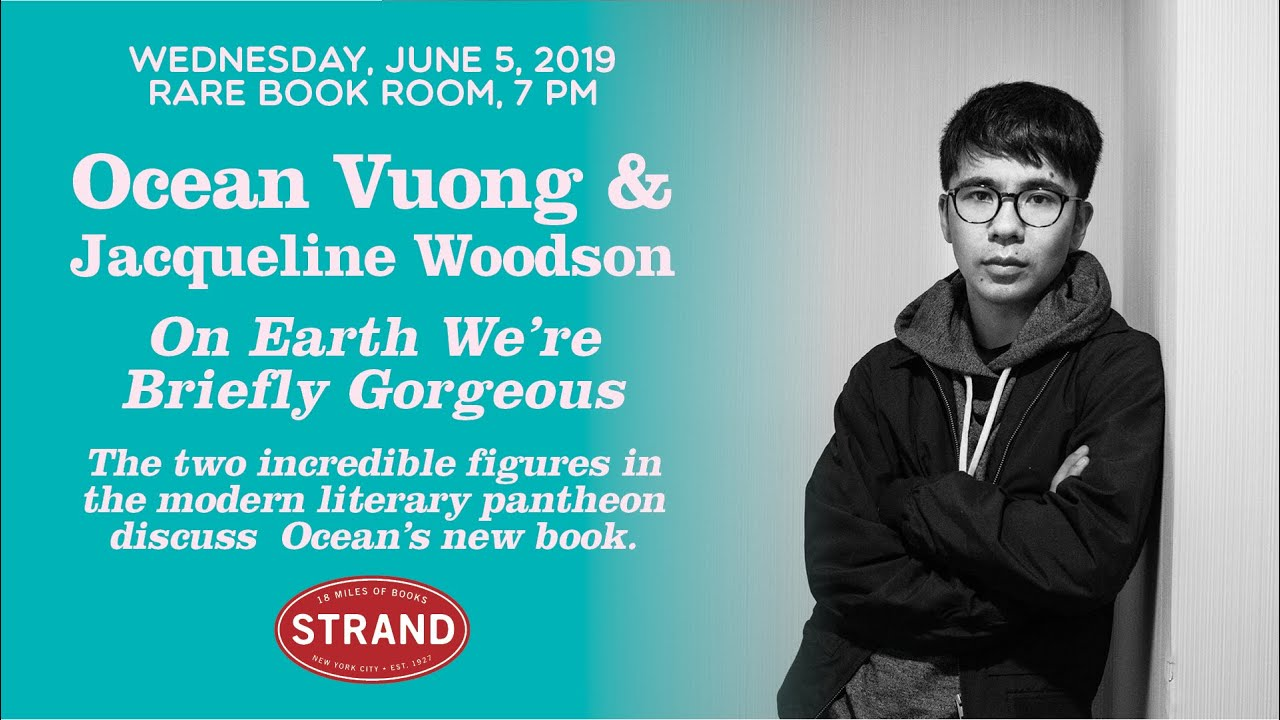"""Live at The Strand: """"Ocean Vuong 