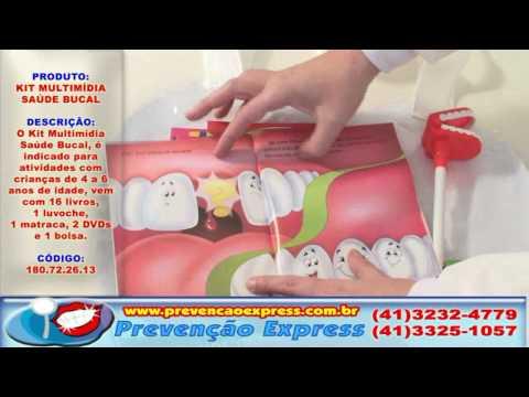 Kit Multimídia Saúde Bucal