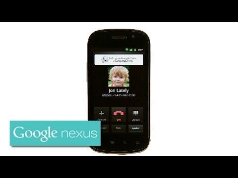 Explore Nexus S: Google Voice