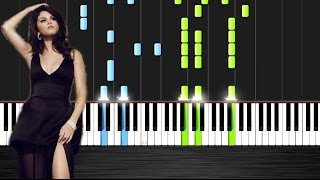Selena Gomez - Same Old Love - Piano Cover/Tutorial
