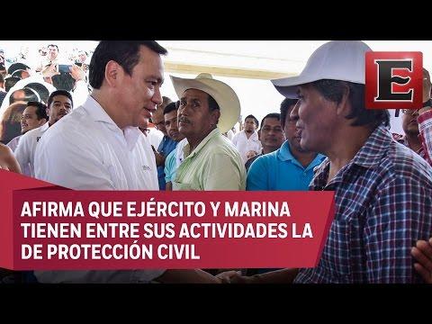 Nadie busca marco legal para militarizar al país, asegura Osorio Chong