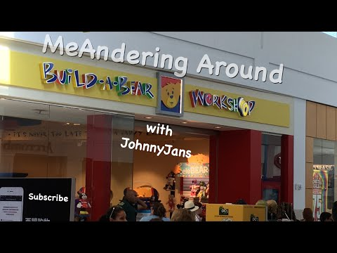 MeAndering Around Build A Bear Pay your Age Day