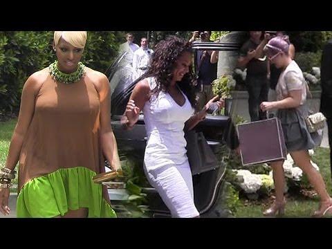 Celebrities Attend Kim Kardashian's Baby Shower: Kelly Osbourne, Robin Antin, Mel B And More