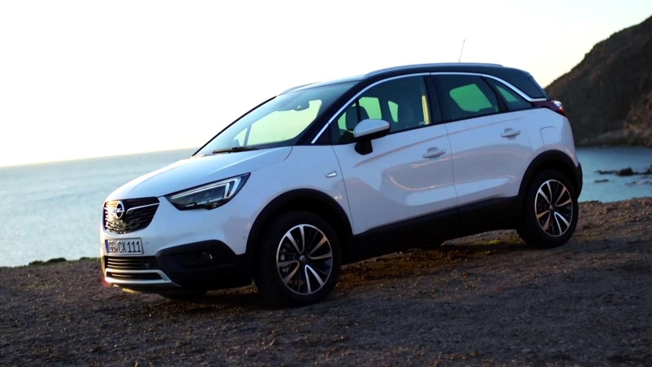 Opel #Crossland X | Head of Design Mark Adams presents design highlights