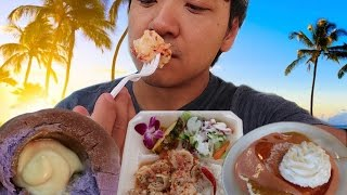 Video OMG The SPICY Shrimp! Oahu Hawaii Food Tour MP3, 3GP, MP4, WEBM, AVI, FLV Juni 2019