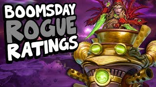 BOOMSDAY ROGUE CARD RATINGS | The Boomsday Project | Hearthstone