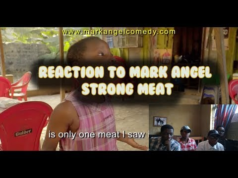 REACTION TO STRONG MEAT (Mark Angel Comedy) (Episode 141)