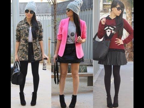 Moda: Outfits invierno