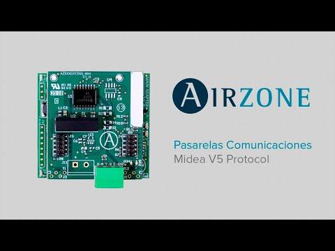 Pasarela Controlador Airzone - Midea V5 protocol