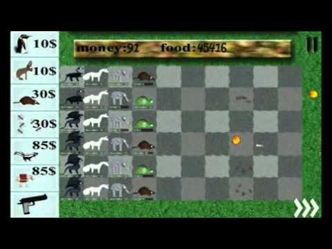 Video of Animals vs. zombies free