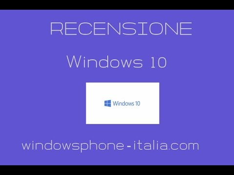 Recensione Windows 10