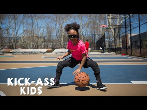 The 8-Year-Old Basketballer Shooting For The Stars | KICK-ASS KIDS (видео)