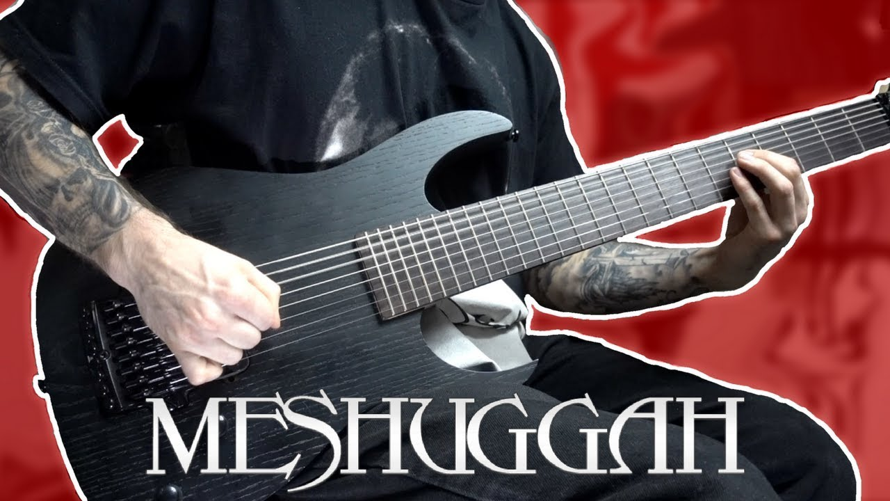 MESHUGGAH – BLEED GUITAR COVER – STAY METAL RAY