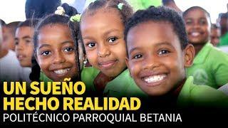 Danilo cumple compromiso: estudiantes de Los Guaricanos reciben politécnico que anhelaban