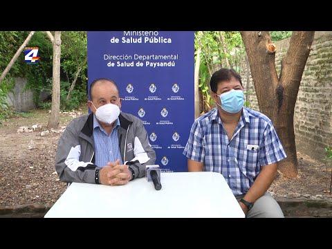 El sábado vacunan con AstraZeneca en Paysandú a mayores de 60 años