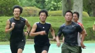 全日本ジュニアチーム陸トレ合宿