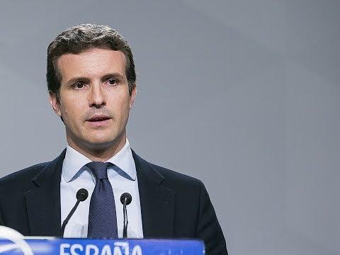 """Pablo Casado: """"Las siglas del PP están por encima ..."""