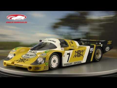 SPARK 43LM85 Porsche 956 n°7 Winner LM 1985 1/43