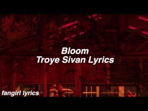 Video Bloom    Troye Sivan Lyrics download in MP3, 3GP, MP4, WEBM, AVI, FLV January 2017