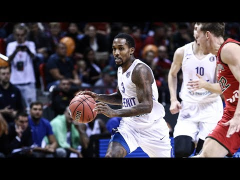 Brandon Jennings Highlights 15 Pts, 3 Ast vs Lokomotiv 05.10.2018