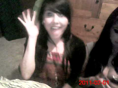 i touch my boobies - this was a video that me && my sister made because we were bored. lol.