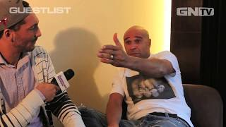 Goldie Interview - Guestlist 2013