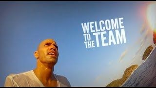 Kelly Slater Joins the GoPro Team