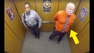 Video This Cop Thought They Were Alone In Elevator, Doesn't Know Hidden Camera Is Recording His Every Move MP3, 3GP, MP4, WEBM, AVI, FLV Januari 2019