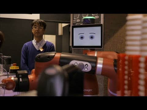 Robot, Barista, Sawyer